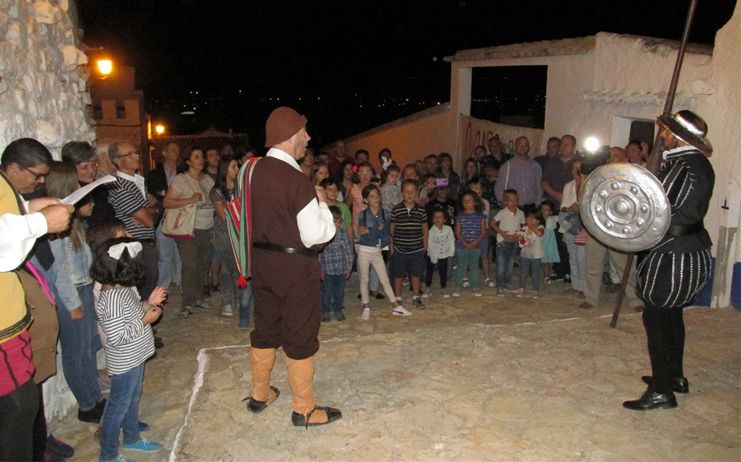 Gran participación en la Aventura Nocturna ligada al patrimonio y las tradiciones populares criptanenses