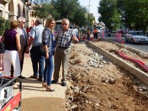 La alcaldesa destaca el cuidado de los detalles en su gestión de Gobierno para cubrir necesidades de los ciudadanos