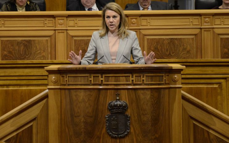 El PP y el PSOE apelan en las Cortes a la unidad de España ante el silencio de Podemos