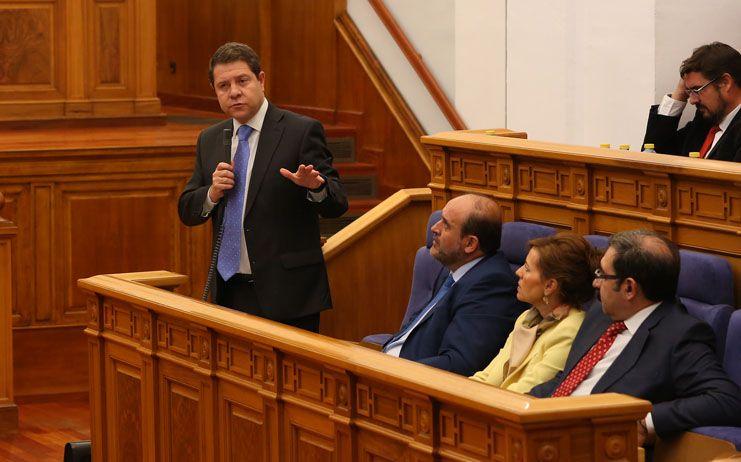 Page asegura que el Consejo de Gobierno formalizará la renuncia de José Bono a las condiciones que establece el Estatuto de los Presidentes