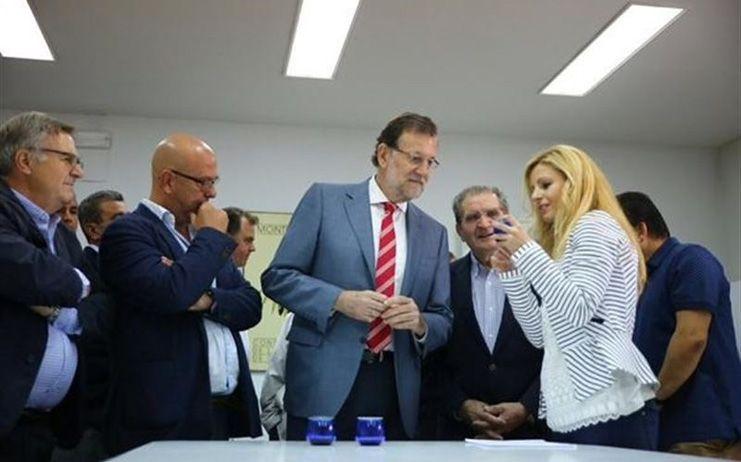 Rajoy defiende en Toledo al PP como