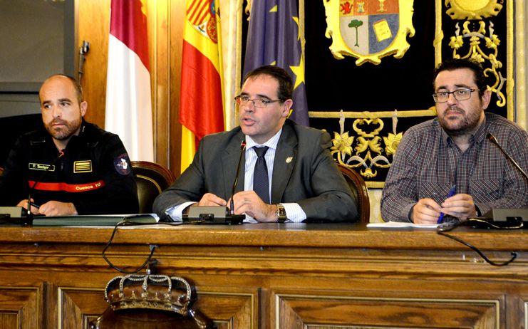 La Diputación de Cuenca abrirá un parque auxiliar de bomberos para atender a La Sierra y parte de La Alcarria