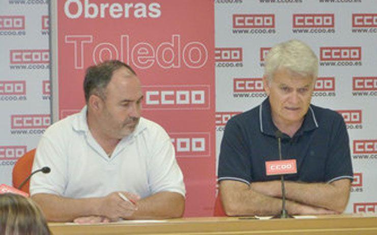 CCOO y UGT reclaman una reunión urgente a Cecam para abordar convenios colectivos y una subida salarial del 3%