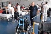 El Hospital Nacional de Parapléjicos consolida el tenis en silla de ruedas como oferta deportiva y de ocio entre sus pacientes