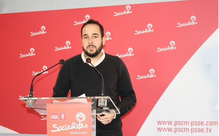González Caballero recuerda que el paro ha bajado dos puntos desde que García-Page asumió la Presidencia de Castilla-La Mancha