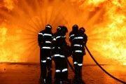 Bomberos de Santa Olalla continúan trabajando en la extinción del incendio de Pepino (Toledo), ya controlado