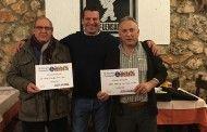 Manuel Arroyo y Juan Manuel de la Torre, vencedores en la Fase Local de Mus de Horche (Guadalajara)