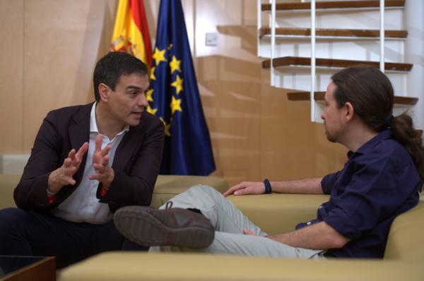 Nuevo órdago de Podemos al PSOE de Pedro Sánchez