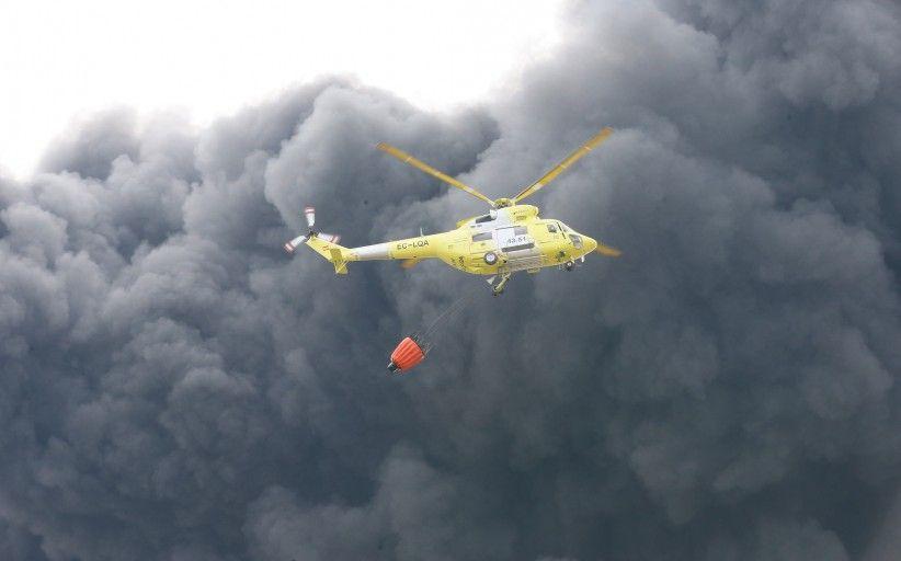 22 medios aéreos del Ministerio de Agricultura y Pesca, Alimentación y Medio Ambiente colaboran en la extinción de los incendios forestales de Albacete, Tarragona y Portugal