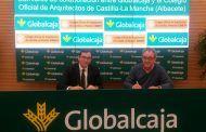 Firma de Globalcaja con el Colegio de Arquitectos de Albacete