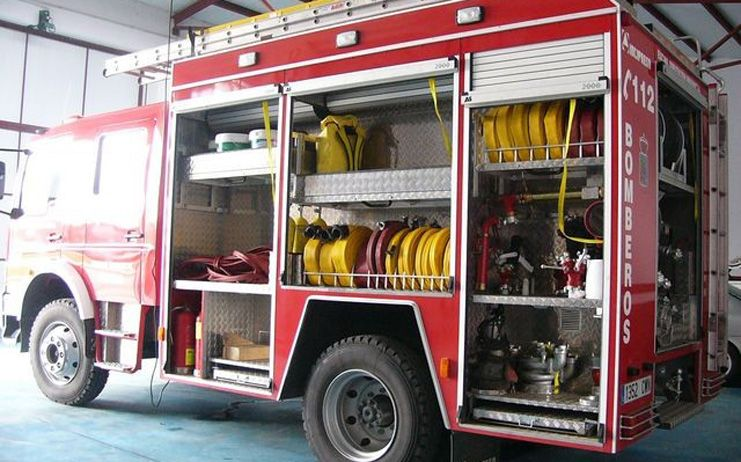 Herido leve un hombre tras el incendio en una vivienda de Ciudad Real
