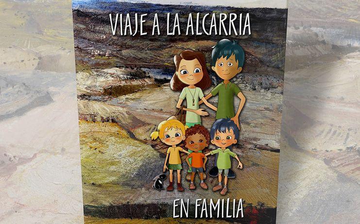 La Diputación de Guadalajara presenta este martes el libro 'Viaje a la Alcarria en familia'