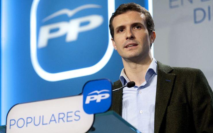 Casado (PP) critica la propuesta de indultos de Iceta porque