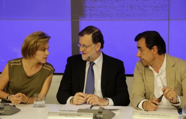 Rajoy ve en España un