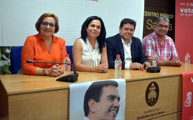 """""""Hay miles de razones para que el domingo el PSOE vuelva a ser la esperanza de la gente que quiere soluciones"""""""