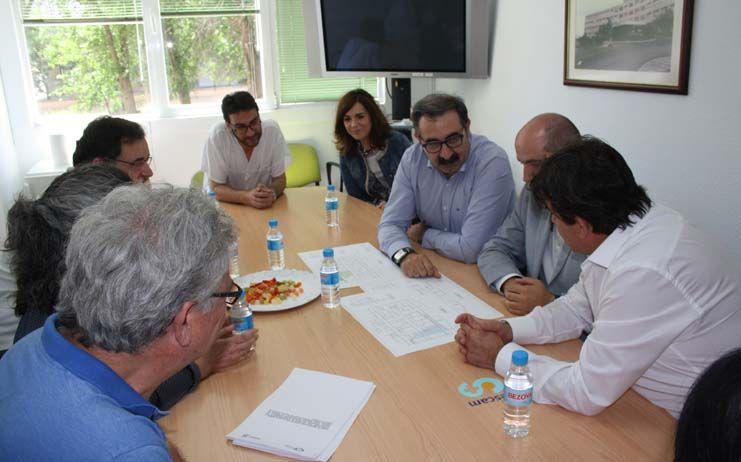 El Gobierno de Castilla-La Mancha conoce los últimos avances del plan funcional del nuevo Hospital de Puertollano