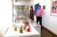El ganchillo y la lana se abren paso en la Fundación Antonio Pérez con la obra de Isis Saz en Cuenca