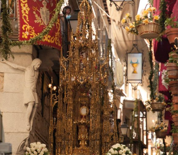 """La Fiesta del Corpus """"sigue siendo atractivo para el turismo y genera un gran interés para visitantes nacionales y extranjeros"""""""
