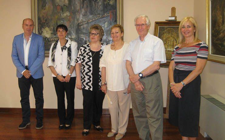 Inaugurada en la Casa del Doncel la exposición permanente de Fermín Santos y de Antonio Santos Viana