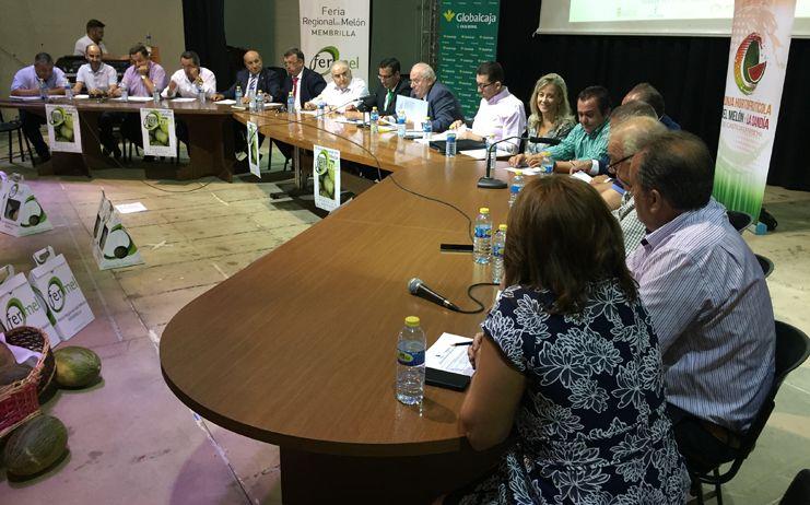 La Lonja del Melón y la Sandía de Castilla-La Mancha constata las cotizaciones de arranque de ambos productos