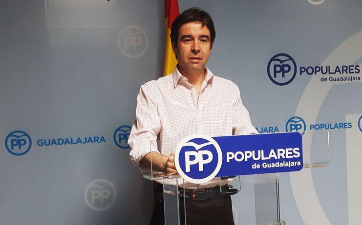 """Robisco: """"El PP va a pedir que Page comparezca en las Cortes para dar explicaciones del incendio de Chiloeches"""""""