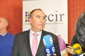 El presidente de FECIR, Carlos Marín, indica que los datos de paro rozan el drama y defiende al sector empresarial pidiendo medidas ante esta crítica situación