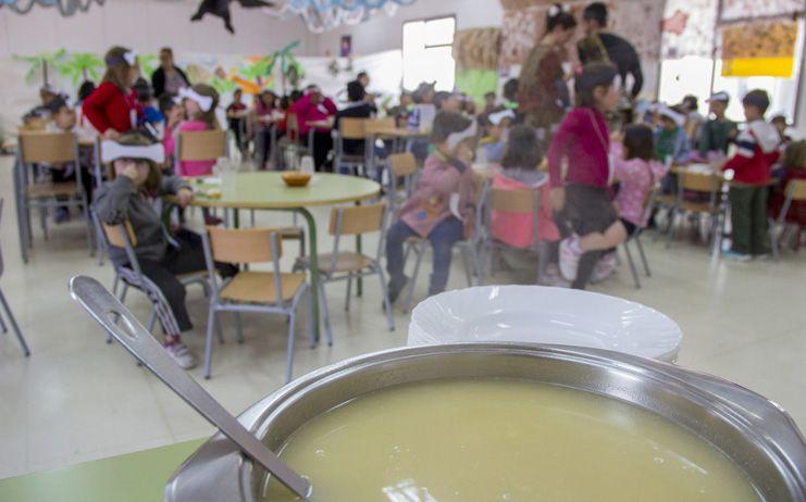 Los colegios públicos La Paz y Feria ofrecerán el servicio de comedor escolar al mediodía durante las vacaciones de Semana Santa