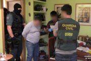 La Guardia Civil detiene a tres personas que estaban robando en una vivienda de Ocaña (Toledo)