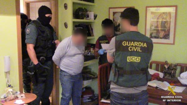 Siete detenidos por formar una banda que robaba camiones en áreas de servicios de Andalucía y Ciudad Real