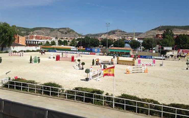 Un total de 72 jinetes y 134 caballos participarán en el 65º Concurso Hípico Nacional de Saltos de Cuenca