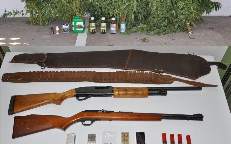 Los servicios antiterroristas de la Policía Nacional realizan numerosas operaciones contra el tráfico ilegal de armas de fuego