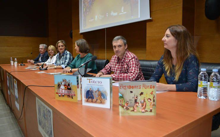 María Ángeles García respalda la publicación de los cuentos históricos didácticos de la provincia de Toledo