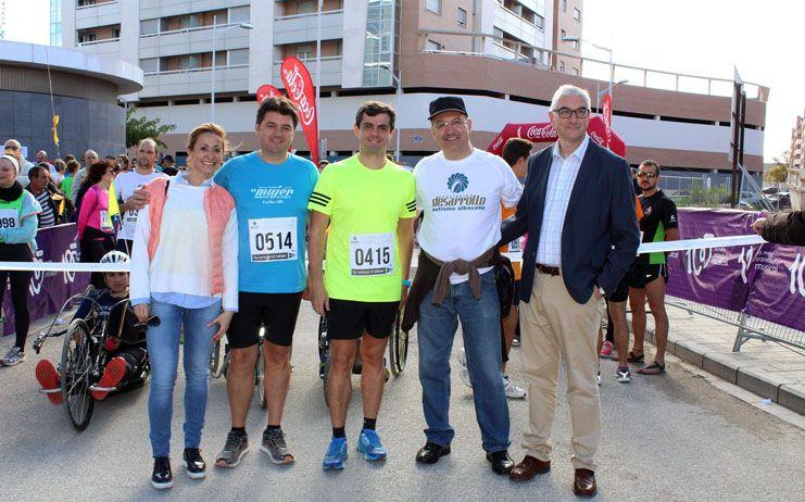 Javier Cuenca agradece a los más de 1.000 albaceteños que han participado en la V Carrera Popular por el autismo