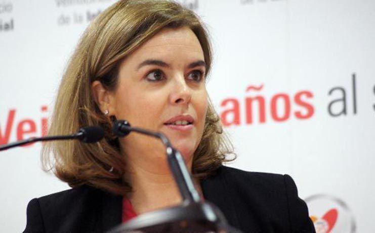 Sáenz de Santamaría abandona la política tras reunirse con Casado