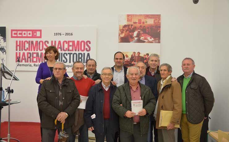 CCOO conmemora su constitución hace 40 años como sindicato en CLM