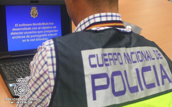Detenidas cuatro personas, una de ellas en Guadalajara, por distribución de pornografía infantil