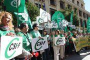 CSIF convoca Comité Ejecutivo el 19 de diciembre para estudiar un calendario de protestas para