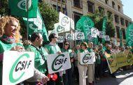 Más de 100 delegados de CSIF instan a Page a