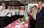 Llanos Navarro desea unas felices fiestas y un próspero Año Nuevo a las asociaciones de vecinos de Albacete