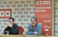 CCOO despide este martes en Toledo a su secretario provincial, Jesús García Villaraco, que deja el cargo el 10 de marzo