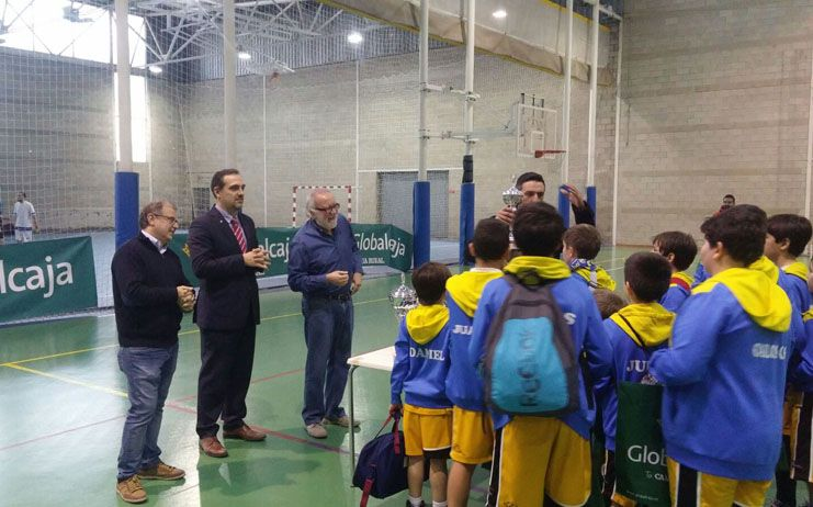 Gran exito en el torneo Globalcaja de Baloncesto Alevin de Albacete