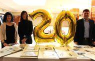 María Gil felicita a Lassus por su 20 aniversario y destaca la labor ejemplar que realiza en Albacete