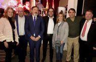 Llanos Navarro y Rosa González de la Aleja asisten a la presentación de las fiestas de San Antón