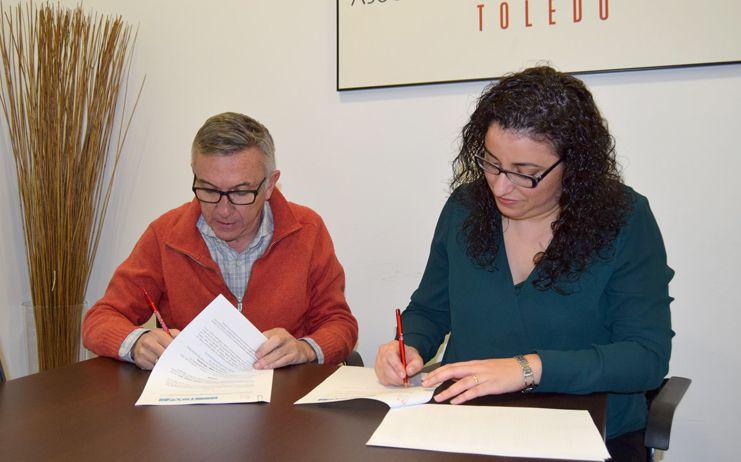 La Asociación de Hostelería y Turismo de Toledo firma un convenio con ITV Puerta de Toledo que permite un 15% de descuento para los asociados