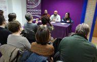 García Molina presenta el Plan Podemos en Albacete