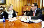 Prieto felicita a ACCEM por su intención de poner en marcha un programa de envejecimiento activo en La Mancha Alta