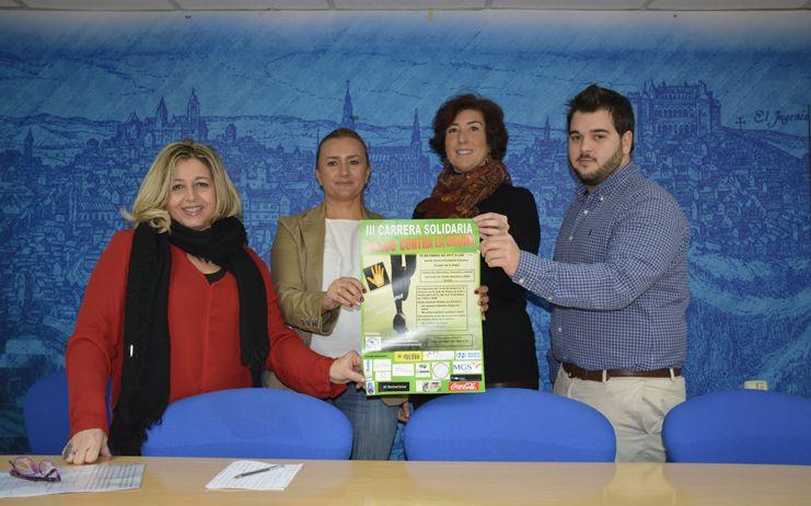 El Ayuntamiento respalda la III Carrera Benéfica Toledo Contra la Droga de Pretox que acogerá el Paseo de Merchán el día 15