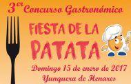 Más de 500 personas participan en la Fiesta de la Patata de Yunquera de Henares (Guadalajara)