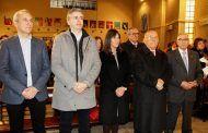 Garijo y Jerez asisten a la misa organizada por la Casa de Amigos de Cuenca en Albacete con motivo de San Julián