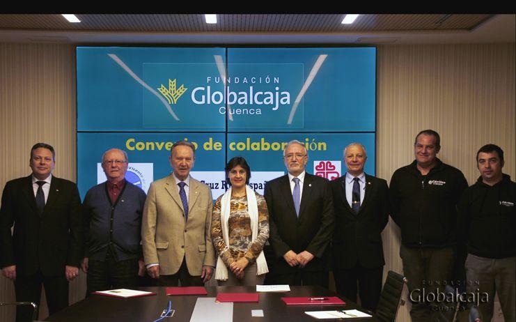 Renovado el apoyo de la Fundación Globalcaja destinado al ámbito socio-asistencial de Cuenca